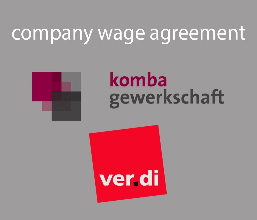company wage agreement