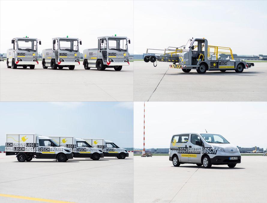 Losch Airport Service E-Mobile